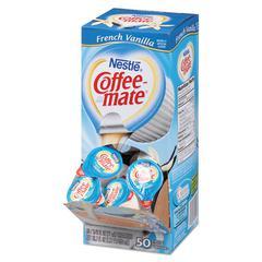 Liquid Coffee Creamer, French Vanilla Flavor 0.375 oz., 200 Creamers/Carton