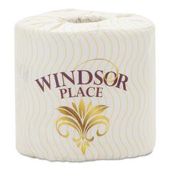 Windsor Place Premium Bathroom Tissue, 2-Ply, 4.5 x 3.0, 400/Roll, 96/Carton