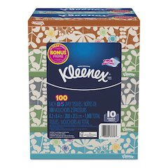 Everyday Tissues, 2 Ply, White, 85 Sheets/Box, 10 Boxes/Pack, 4 Packs/Carton