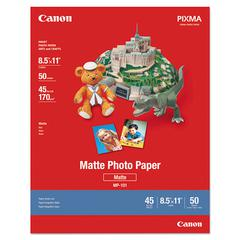Photo Paper Plus, Matte, 8-1/2 x 11, 50 Sheets/Pack