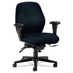 7800 Series High-Performance Mid-Back Task Chair, Tectonic Mariner