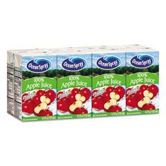 Aseptic Juice Boxes, 100% Apple, 4.2oz, 40/Carton