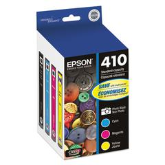 T410520 (410) Ink, Black/Cyan/Magenta/Yellow, 4/PK