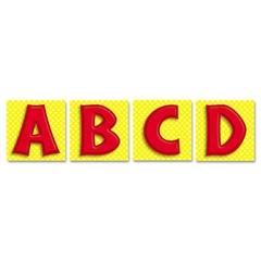 Publishing Quick Stick Letters Set, 45 Pieces, Red