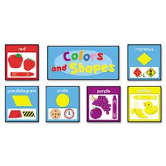 Carson-Dellosa Publishing Quick Stick Bulletin Board Set, Colors and Shapes