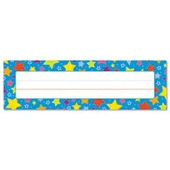 """Carson-Dellosa Publishing Desk Nameplates, Stars, 9 1/2"""" x 3"""", 36/Set"""