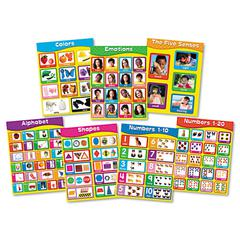 "Chartlet Set, Early Learning, 17"" x 22"", 1 set"