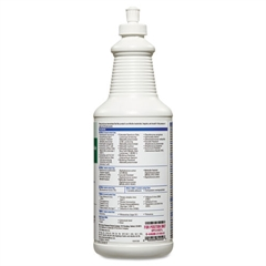 Hydrogen-Peroxide Cleaner/Disinfectant, 32oz Spray Bottle, 6/Carton