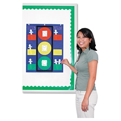 "Stoplight Pocket Chart, 19 3/4"" x 26"""