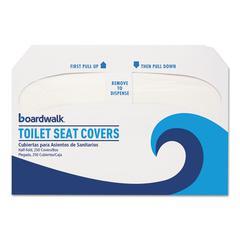 Premium Half-Fold Toilet Seat Covers, 250 Covers/Sleeve, 10 Sleeves/Carton