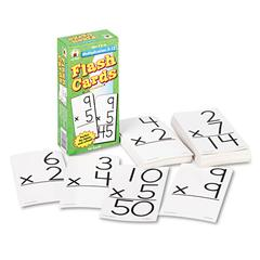 Flash Cards, Multiplication Facts 0-12, 3w x 6h, 94/Pack
