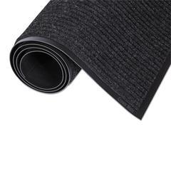 Needle-Rib Wiper/Scraper Mat, Polypropylene, 24 x 36, Charcoal