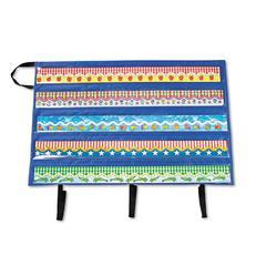 "Carson-Dellosa Publishing Border Storage Pocket Chart, Blue/Clear, 41"" x 24 1/2"""