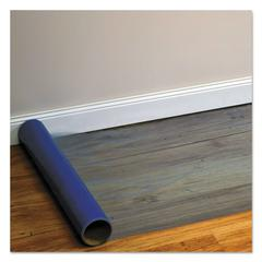 Roll Guard Temporary Floor Protection Film for Hard Floors, 36 x 2400, Blue