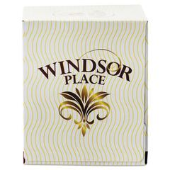 Windsor Place Cube Facial Tissue, 2-Ply, White, 85 Sheets/Box, 30 Boxes/Carton
