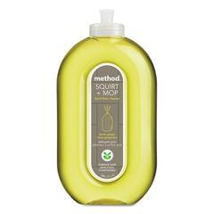 Squirt + Mop Hard Floor Cleaner, 25 oz Spray Bottle, Lemon Ginger, 6/Carton