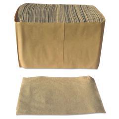 "Dispenser Napkins, Paper, 1-Ply, 13"" x 12"", Brown, 6000/Carton"