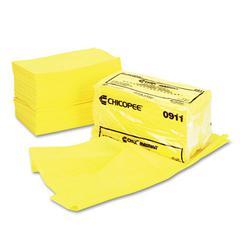 Chix Masslinn Dust Cloths, 24 x 24, Yellow, 50/Bag, 2 Bags/Carton