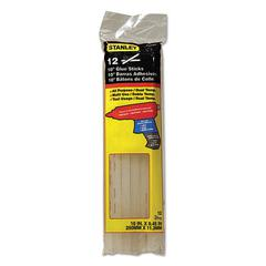 "Dual Temperature 10"" Glue Sticks, Clear, 12/Pack"