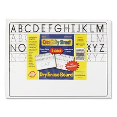 Magnetic Dry Erase Board, 12 x 9, 10/Set