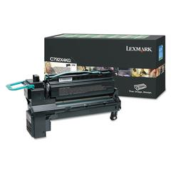 Remanufactured C792X4KG (C792) Return Program Extra High-Yield Toner, Black