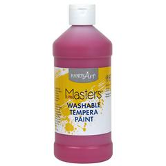 Little Masters Washable Tempera Paint, Magenta, 16 oz