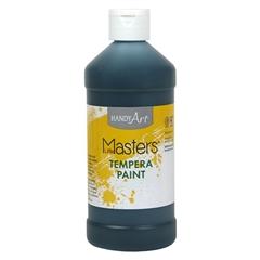 Little Masters Tempera Paint, Black, 16 oz