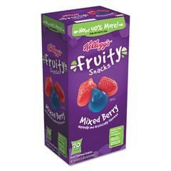 Fruity Snacks, Mixed Berry, 0.7 oz Bag, 70/Carton