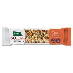 GOLEAN Fiber & Protein Bars, Peanut Hemp Crunch, 1.58 oz Bar, 8/Box