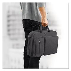 "Urban Hybrid Briefcase, 15.6"", 16 3/4"" x 4"" x 12"", Gray"