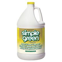 Industrial Cleaner & Degreaser, Concentrated, Lemon, 1 gal Bottle, 6/Carton