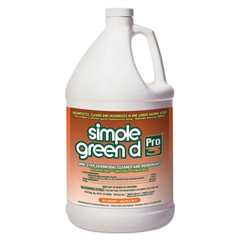 d Pro 3 One-Step Germicidal Cleaner/Deodorant 1gal Refill Bottle/Childproof Cap
