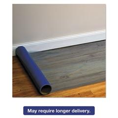 Roll Guard Temporary Floor Protection Film for Hard Floors, 36 x 2400, Blue
