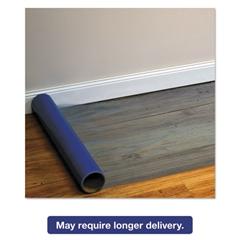 Roll Guard Temporary Floor Protection Film for Hard Floors, 24 x 2400, Blue