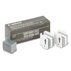 Canon Staples for Canon IR550/600/6045/Others, Three Cartridges, 15,000 Staples/Pack
