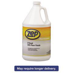 Z-Tread UHS Floor Finish, Neutral, 1gal Bottle, 4/Carton