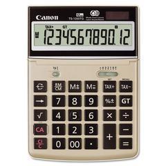 Canon TS1200TG Desktop Calculator, 12-Digit LCD