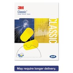 E·A·R Classic Small Earplugs in Pillow Paks, PVC Foam, Yellow, 200 Pairs