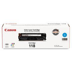 Canon 2661B001 (118) Toner, Cyan