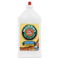 Squirt and Mop Floor Cleaner, 32 oz Bottle, Lemon Scent, 6/Carton