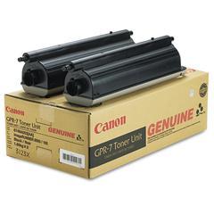 Canon 6748A003AA (GPR-7) Toner, Black, 2/PK