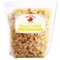 Favorite Nuts, Dried Fruit, Diced Pineapple & Papaya Blend, 38 oz Bag