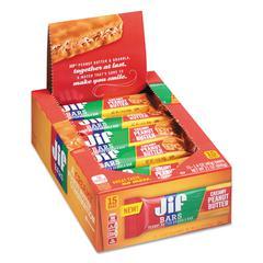 Peanut Butter Granola Bars, 1.4 oz Bar, 15/Box
