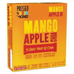 Pressed by KIND Bars, Mango Apple Chia, 1.2 oz Bar, 12/Box