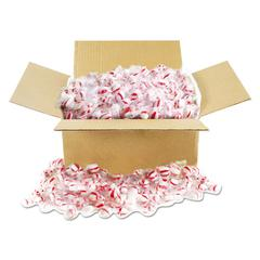 Candy Tubs, Peppermint Puffs, Individually Wrapped, 10 lb Value Size Box