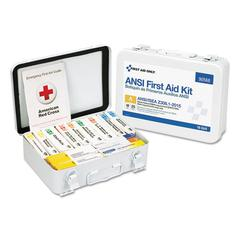 Unitized ANSI Compliant Class A Type III First Aid Kit for 25 People, 16 Units