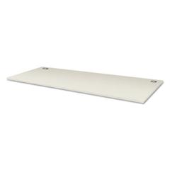 Voi Rectangular Worksurface, 72w x 30d, White