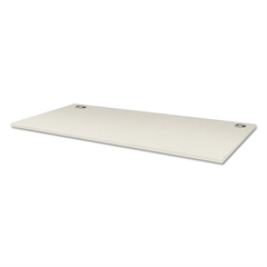 Voi Rectangular Worksurface, 60w x 30d, Brilliant White