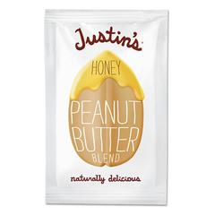 Honey Peanut Butter, 1.15 oz Squeeze Pack, 10/Box