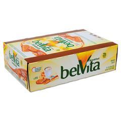 belVita Breakfast Biscuits, Peanut Butter Sandwich, 1.76 oz Pack, 8/Box